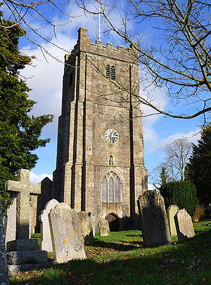 Chagford - The church of St Michael the Archangel