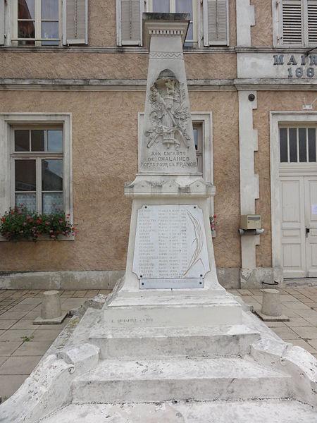 Chalaines (Meuse) monument aux morts