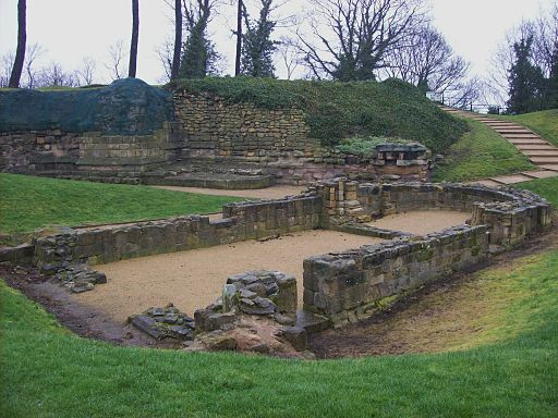 Chapel foundations, Pontefract