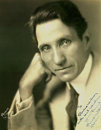 Charles Middleton (actor) - Middleton in 1922