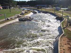 U.S. National Whitewater Center - Image: Charlotte Whitewater 02