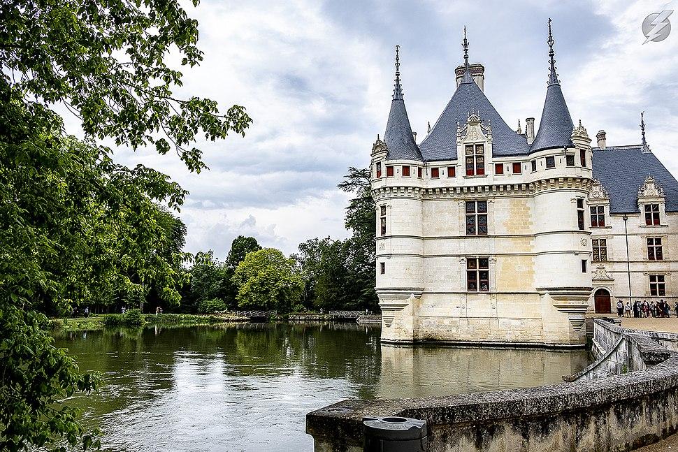 Chateau D Azay Le Rideau Howling Pixel