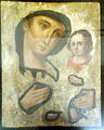 Cheap slapdash Marian icon without riza (Russia) by shakko.jpg