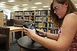 Cherry Point library makes first major push to iPad use 120706-M-FL266-024.jpg