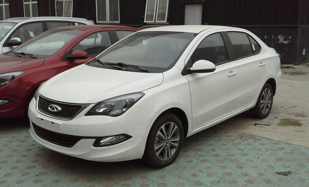 Px Chery Arrizo China on 4 Door Car For A
