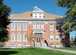 Cheyenne County Colorado Courthouse Center Front 1.jpg