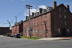 Dwight Manufacturing Company Housing District - Image: Chicopee MA Dwight Company Housing