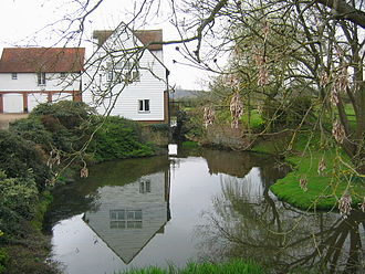 River Eden, Kent - Chiddingstone Mill, now house-converted