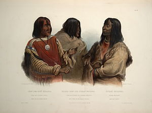 Kainai Nation - Image: Chief of the Blood indians War chief of the Piekann indians and Koutani indian 0079v