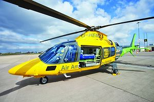 Children's Air Ambulance - The Children's Air Ambulance helicopter at Coventry Airport.
