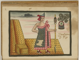 Chimalpopoca - Chimalpopoca as depicted in the Tovar Codex.
