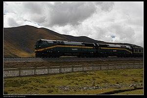 GE Dash 9 Series - China Railways NJ2 0053.