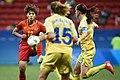 China x Suécia - Futebol feminino - Olimpíada Rio 2016 (28807987811).jpg