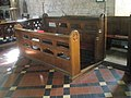 Choir stalls within St James, Cardington - geograph.org.uk - 1445978.jpg