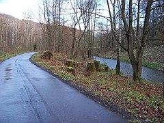 Chrastava-Andělská Hora, cesta podél Nisy ke Kolonce.jpg
