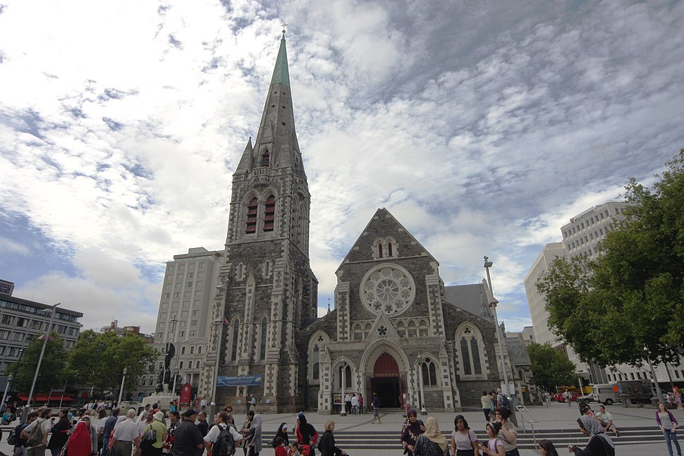 ChristChurch Cathedral in summer