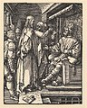 Christ before Herod, from The Small Passion MET DP820434.jpg
