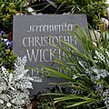 Christopher Wicking grave stone - City of London Cemetery, Newham, London England.jpg