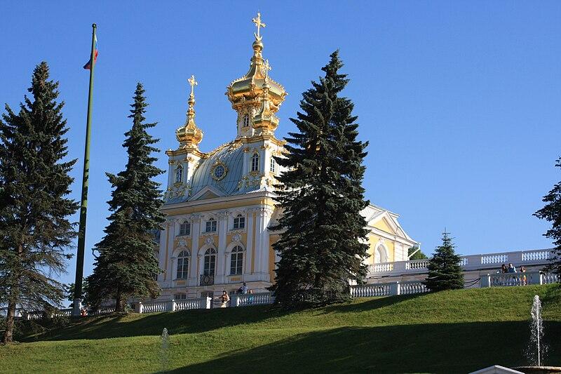 File:Church building Petrodvorets.jpg
