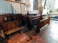 Church of St John, Finchingfield Essex England - Chancel north choir stalls.jpg