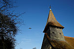 Church of St Mary Broxted Essex, England - aircraft and tower.jpg