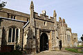 Church of St Mary Hatfield Broad Oak Essex England - south porch from southwest.jpg
