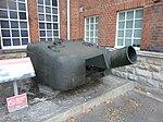 Churchill AVRE, petard turret.jpg