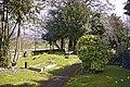 Churchyard, St Mary the Virgin, East Barnet - geograph.org.uk - 766554.jpg