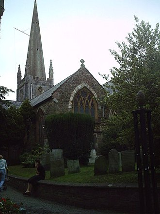St Michael and All Angels, Great Torrington - Church and churchyard