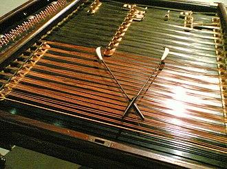 Gypsy style - The cimbalom takes care of the harmony