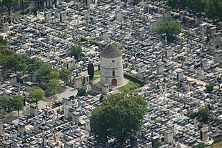 cemetery in the Montparnasse quarter of Paris, France