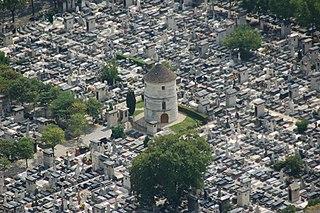 Montparnasse Cemetery cemetery in the Montparnasse quarter of Paris, France