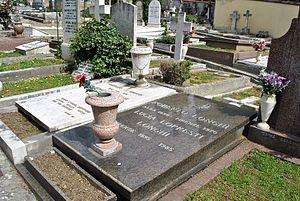 Roberto Longhi - Cimitero degli Allori, Roberto Longhi