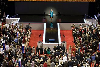 Cindy McCain - Addressing the delegates on the final night of the 2008 Republican National Convention