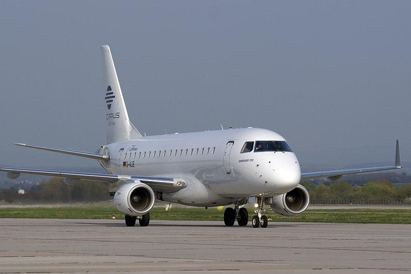 Cirrus Airlines E170 D-ALIE