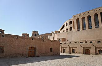 Herat Citadel - Image: Citadel in Herat in 2011