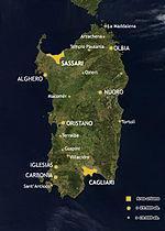 Cartina Politica Sardegna Wikipedia.Sardegna Wikipedia