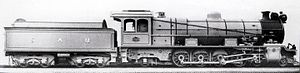 South African type MT tender - Image: Class 12A no. 1520