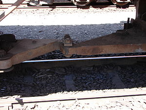 South African Class 35-000 - Inter-bogie linkage