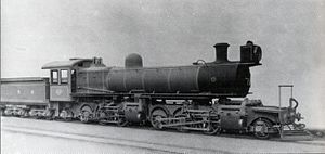 South African Class ME 2-6-6-2 - Image: Class ME no. 1618