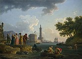 Claude-Joseph Vernet - A Sea-shore - c 1776 - National Gallery UK.jpg
