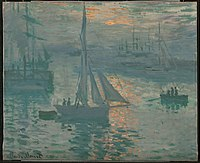 Claude Monet (French - Sunrise (Marine) - Google Art Project.jpg