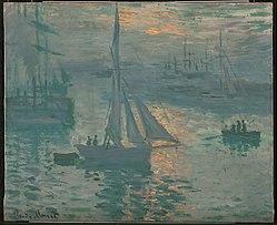 کلود مونه: Sunrise (Marine)