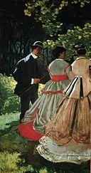 Claude Monet - Le dejeurner sur l'herbe (left panel).jpg