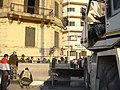 Cleanup after Hosni Mubarak's departure, Cairo, Egypt (from Al Jazeera) - 20120212-08.jpg