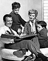 Cleaver family Leave it to Beaver 1960.JPG