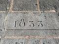 Clermont-Ferrand - Inscription 1833 entrée cathédrale (juil 2020).jpg