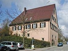 Pfarrhaus in Cleversulzbach (Quelle: Wikimedia)