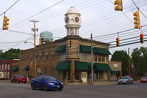 Plain City, Ohio - Clock tower