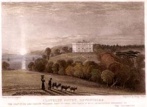 Clovelly Court - Clovelly Court in 1831